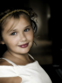 Photography Portrait of a Young Girl